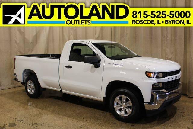 2020 Chevrolet Silverado 1500 for sale at AutoLand Outlets Inc in Roscoe IL