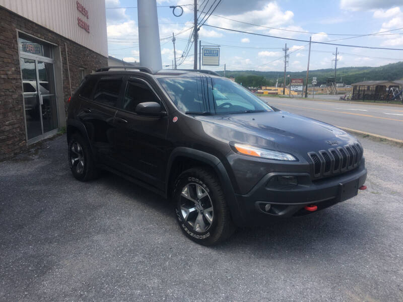 2014 Jeep Cherokee for sale at K B Motors in Clearfield PA