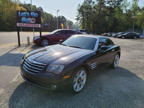 2004 Chrysler Crossfire for sale at Let's Go Auto in Florence SC