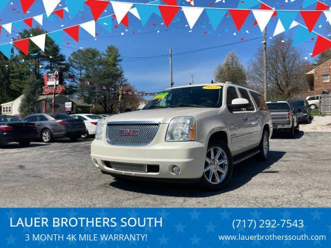 2011 GMC Yukon XL for sale at LAUER BROTHERS SOUTH in York PA