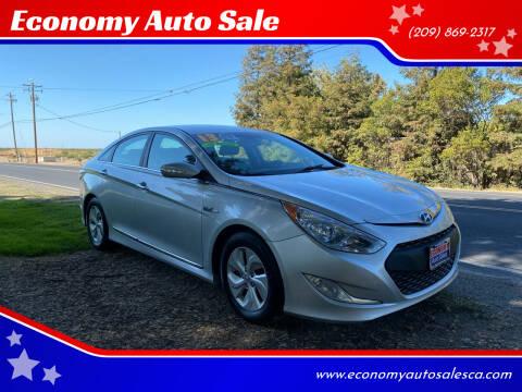 2013 Hyundai Sonata Hybrid for sale at Economy Auto Sale in Modesto CA