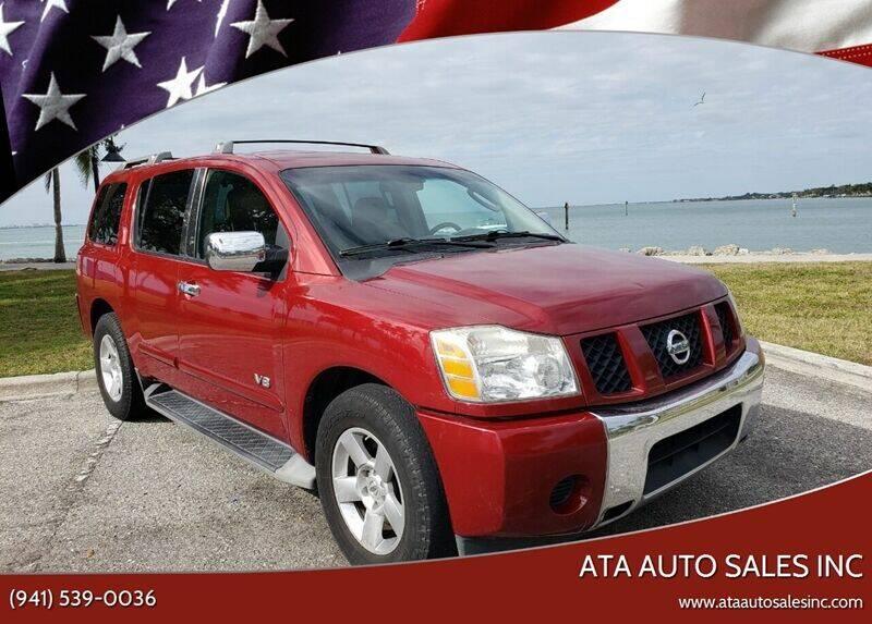 2007 Nissan Armada for sale at ATA   AUTO SALES INC in Sarasota FL