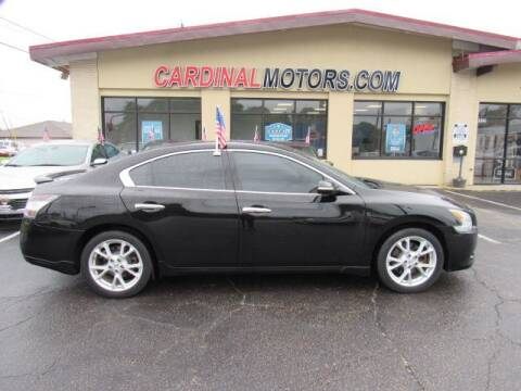 2012 Nissan Maxima for sale at Cardinal Motors in Fairfield OH