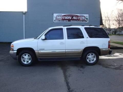 2000 GMC Yukon for sale at Motion Autos in Longview WA
