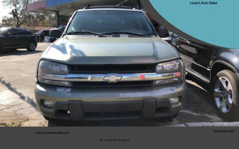 2003 Chevrolet TrailBlazer for sale at Louie's Auto Sales in Leesburg FL