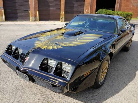 1979 Pontiac Trans Am for sale at STUDIO HOTRODS in Richmond IL