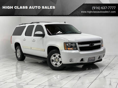 2014 Chevrolet Suburban for sale at HIGH CLASS AUTO SALES in Rancho Cordova CA