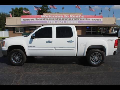 2011 GMC Sierra 1500 for sale at Kents Custom Cars and Trucks in Collinsville OK