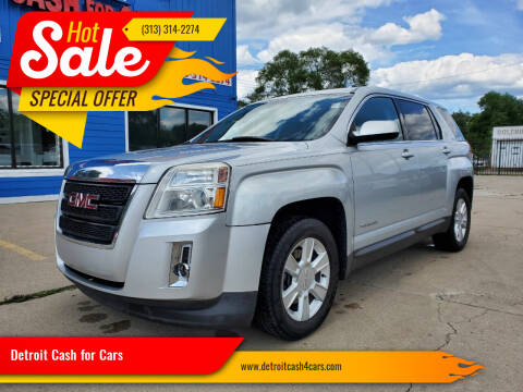 2011 GMC Terrain for sale at Detroit Cash for Cars in Warren MI
