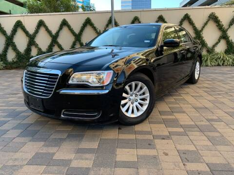 2013 Chrysler 300 for sale at ROGERS MOTORCARS in Houston TX