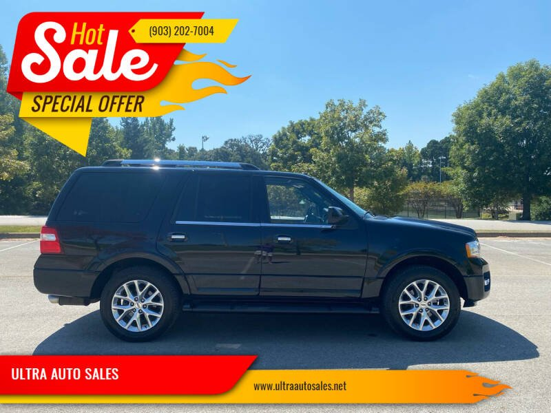 2017 Ford Expedition for sale at ULTRA AUTO SALES in Whitehouse TX