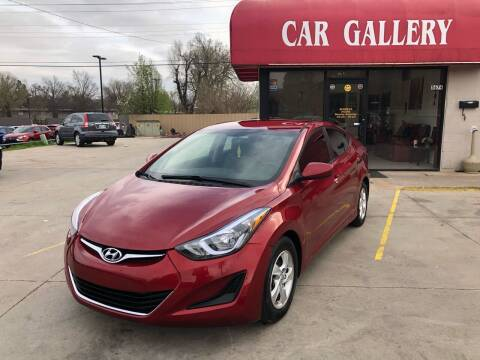 2015 Hyundai Elantra for sale at Car Gallery in Oklahoma City OK