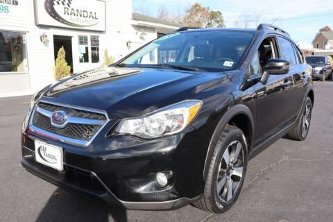 2015 Subaru XV Crosstrek for sale at Randal Auto Sales in Eastampton NJ
