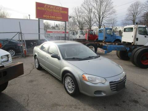 2006 Chrysler Sebring for sale at Lynch's Auto - Cycle - Truck Center in Brockton MA
