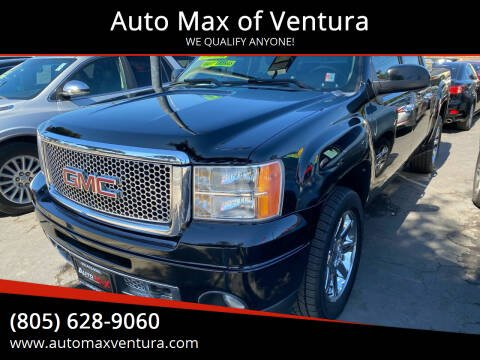 2011 GMC Sierra 1500 for sale at Auto Max of Ventura in Ventura CA