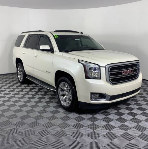 2015 GMC Yukon for sale at AH Ride & Pride Auto Group in Akron OH