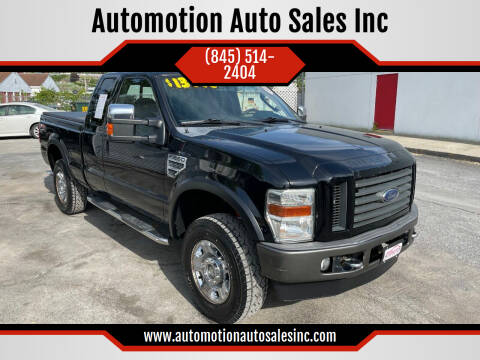 2009 Ford F-250 Super Duty for sale at Automotion Auto Sales Inc in Kingston NY