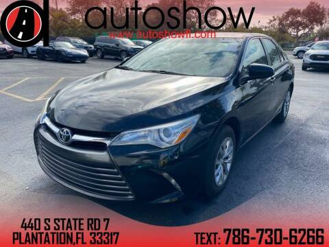 2017 Toyota Camry for sale at AUTOSHOW SALES & SERVICE in Plantation FL