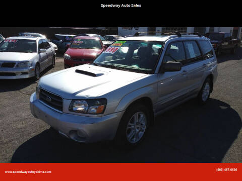 2004 Subaru Forester for sale at Speedway Auto Sales in Yakima WA