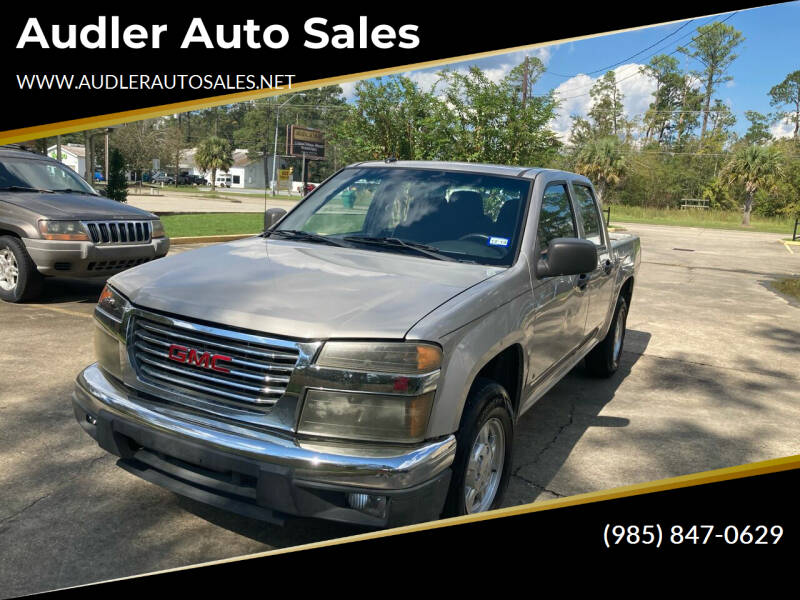 2008 GMC Canyon for sale at Audler Auto Sales in Slidell LA