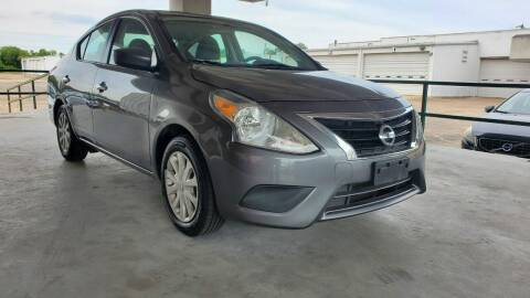 2016 Nissan Versa for sale at ZORA MOTORS in Rosenberg TX