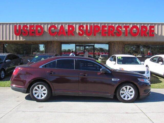 2010 Ford Taurus for sale at Checkered Flag Auto Sales NORTH in Lakeland FL