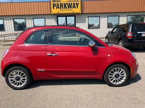 2013 FIAT 500c for sale at Parkway Motors in Springfield IL
