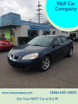 2008 Pontiac G6 for sale at R&R Car Company in Mount Clemens MI