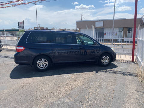 2005 Honda Odyssey for sale at Robert B Gibson Auto Sales INC in Albuquerque NM