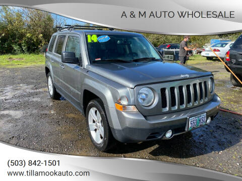 2014 Jeep Patriot for sale at A & M Auto Wholesale in Tillamook OR