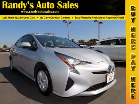 2017 Toyota Prius for sale at Randy's Auto Sales in Ontario CA