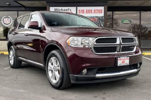 2012 Dodge Durango for sale at Michaels Auto Plaza in East Greenbush NY