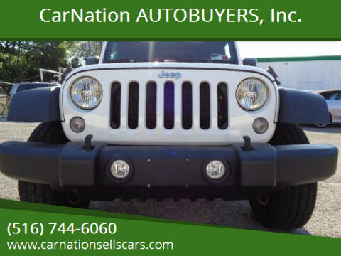2017 Jeep Wrangler Unlimited for sale at CarNation AUTOBUYERS, Inc. in Rockville Centre NY