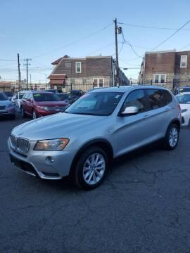 2014 BMW X3 for sale at Key & V Auto Sales in Philadelphia PA