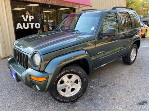 2003 Jeep Liberty for sale at VP Auto in Greenville SC