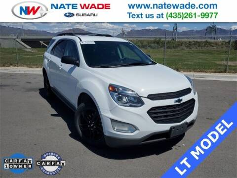 2017 Chevrolet Equinox for sale at NATE WADE SUBARU in Salt Lake City UT