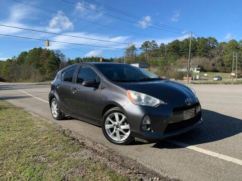 2012 Toyota Prius c for sale at Anaheim Auto Auction in Irondale AL