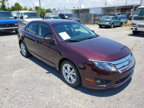 2012 Ford Fusion for sale at Jamrock Auto Sales of Panama City in Panama City FL