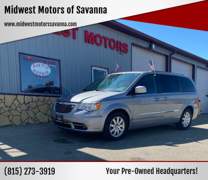 2014 Chrysler Town and Country for sale at Midwest Motors of Savanna in Savanna IL