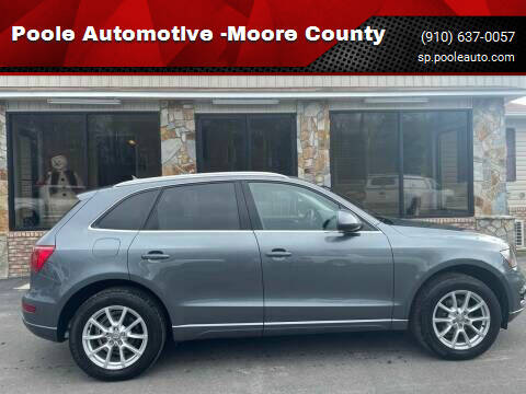 2012 Audi Q5 for sale at Poole Automotive in Laurinburg NC