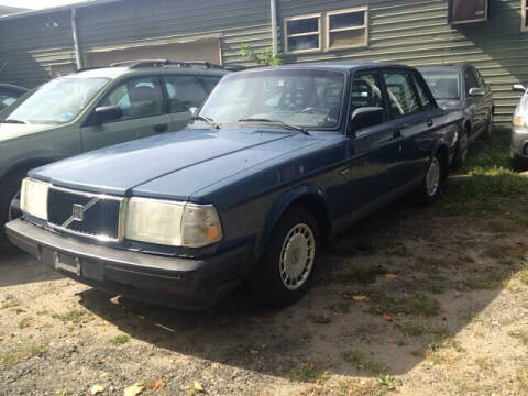 1992 Volvo 240 for sale at Auto King Picture Cars in Pound Ridge NY