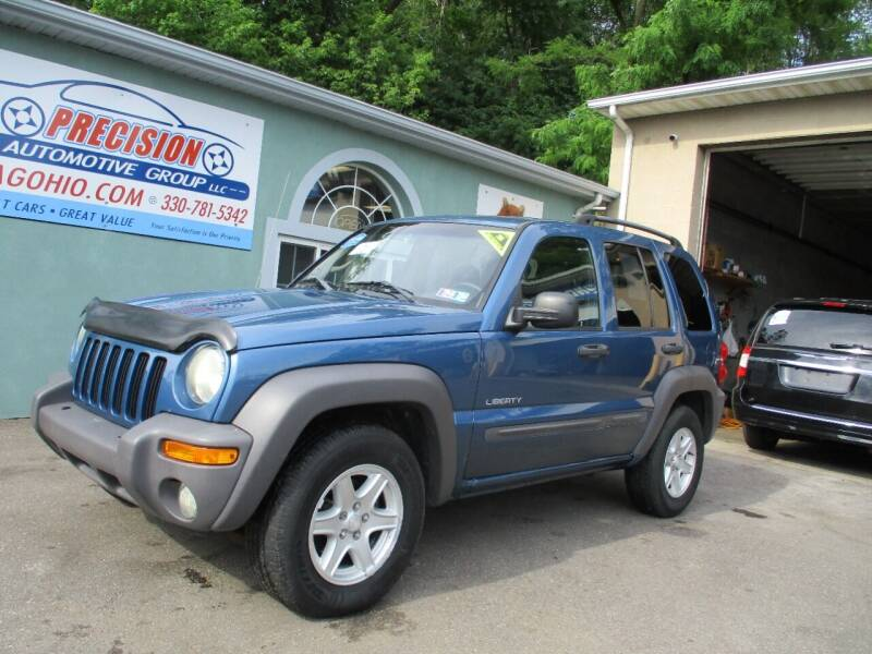 2004 Jeep Liberty for sale at Precision Automotive Group in Youngstown OH
