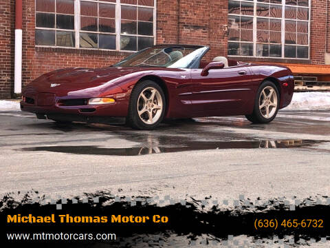 2003 Chevrolet Corvette for sale at Michael Thomas Motor Co in Saint Charles MO