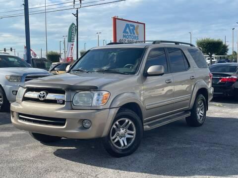 2005 Toyota Sequoia for sale at Ark Motors LLC in Orlando FL
