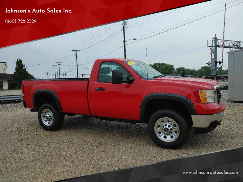 2011 GMC Sierra 3500HD for sale at Johnson's Auto Sales Inc. in Decatur IN