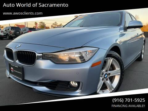 2013 BMW 3 Series for sale at Auto World of Sacramento Stockton Blvd in Sacramento CA