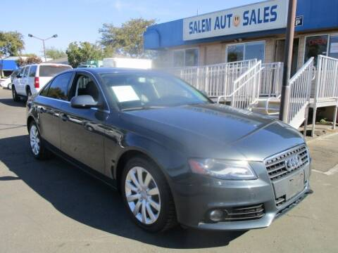 2010 Audi A4 for sale at Salem Auto Sales in Sacramento CA