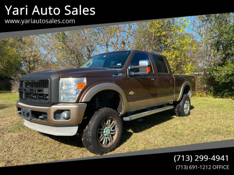 2011 Ford F-250 Super Duty for sale at Yari Auto Sales in Houston TX