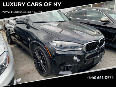 2016 BMW X5 M for sale at LUXURY CARS OF NY in Queens NY