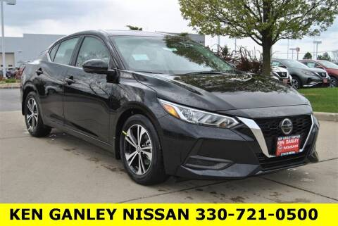 2021 Nissan Sentra for sale at Ken Ganley Nissan in Medina OH